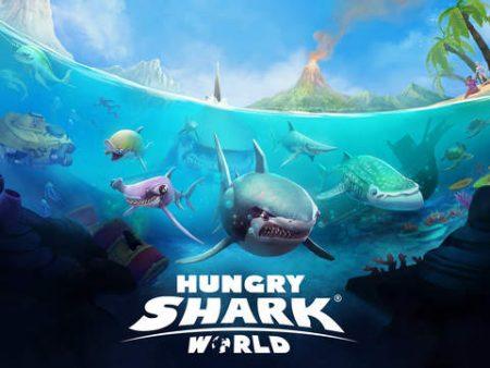 banner do mundo tubarão faminto