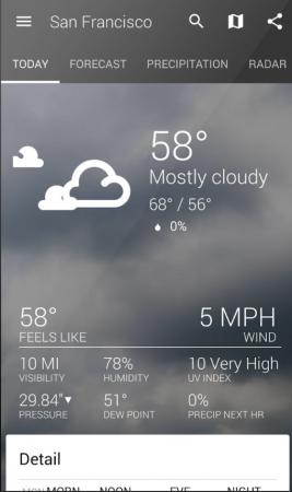 11 parasta Android-sovellusta, jota sinun täytyy kokeilla jo tänään 1 Sää | Appamatix.com