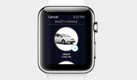 zegarek Apple Uber