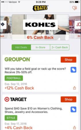 Genius Shopping -sovellukset, jotka sinun on ladattava niin pian kuin mahdollista | Ebates | Appamatix.com