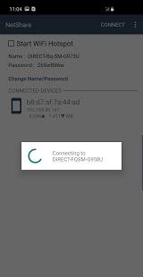 NetShare - zrzut ekranu bez tetheringu