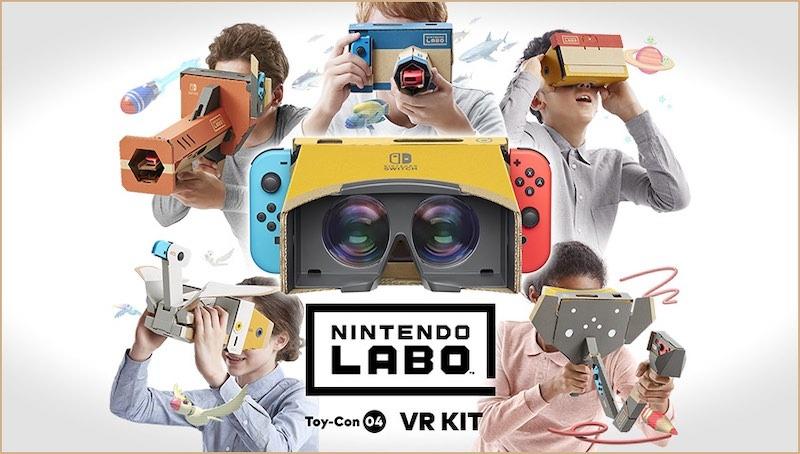 Niedrogie zestawy słuchawkowe Vr Nintendo