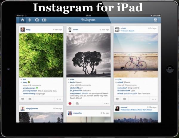 3 Tapoja saada se Instagram IPad-sovellus