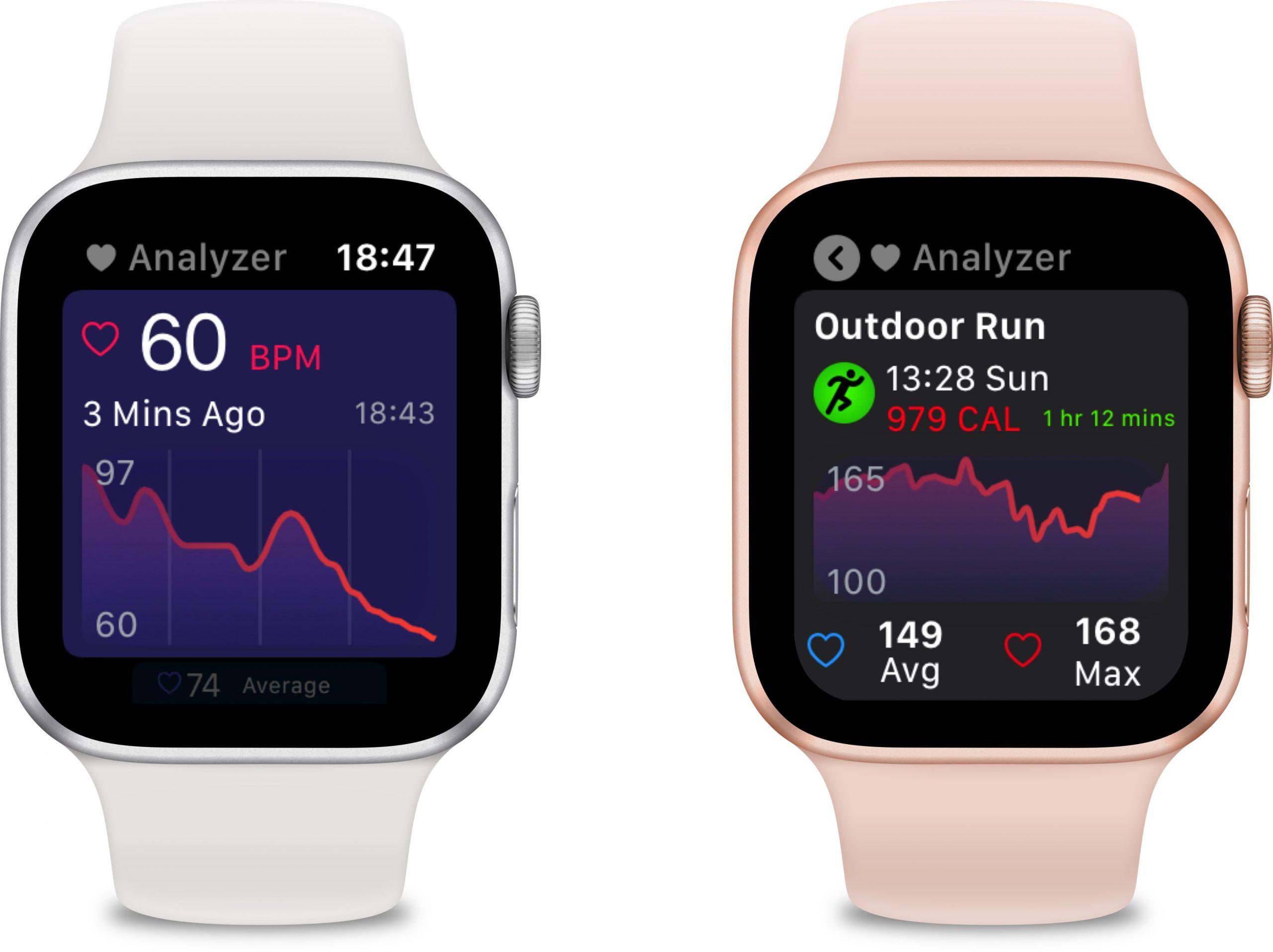 O Heart Analyzer adiciona suporte ao modo escuro, um aplicativo Watch aprimorado, novas análises e dados e muito mais 3