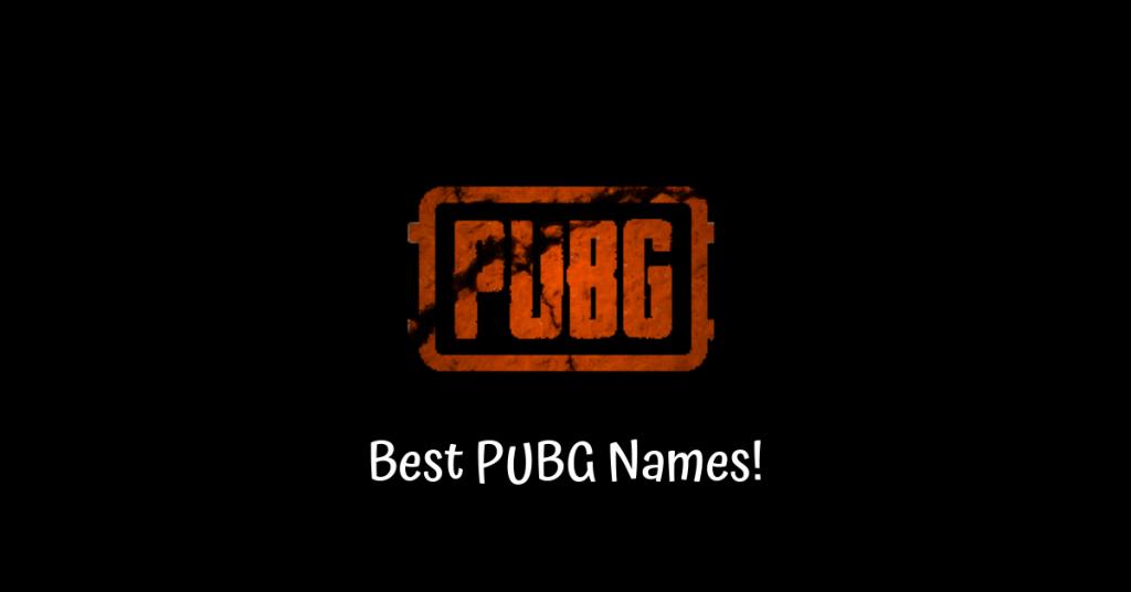 Najlepsze nazwy PUBG!