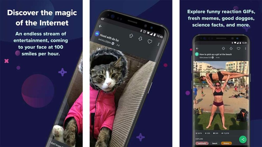 Imgur - Melhores aplicativos como Instagram