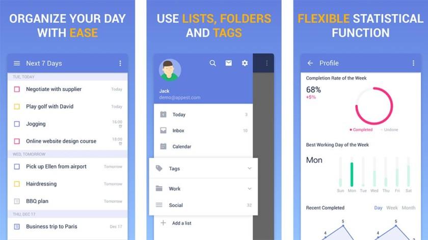 TickTick on yksi parhaista Android-sovellusluettelosovelluksista