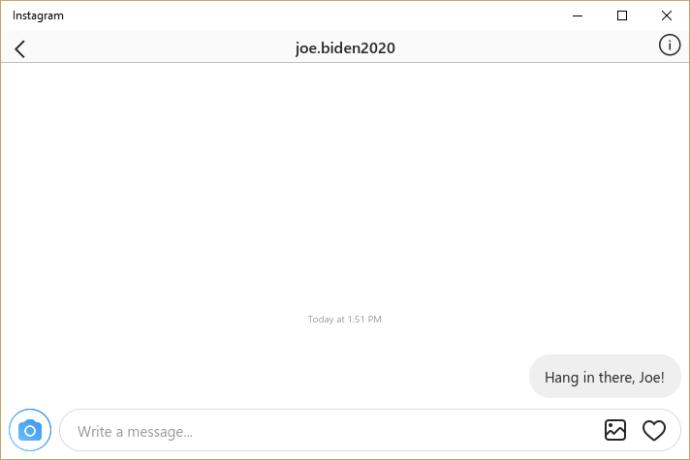 Necə yoxlanılır Instagram Kompüterinizdəki mesajlar 5