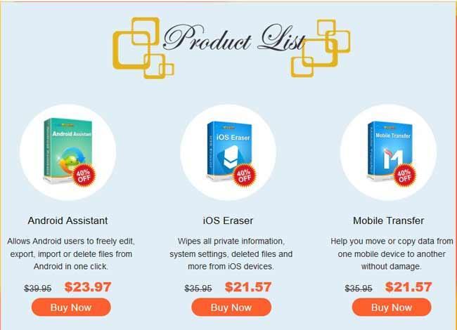 Coolmuster Mobile Transfer - najlepsze oprogramowanie do przesyłania z telefonu na telefon 2