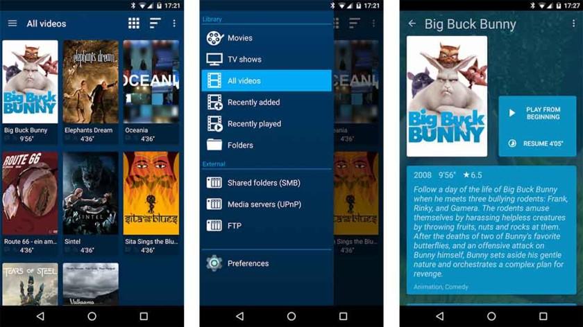 Tämä on kuvakaappaus Archos-sovellukselle, joka on yksi parhaista Android TV -sovelluksista
