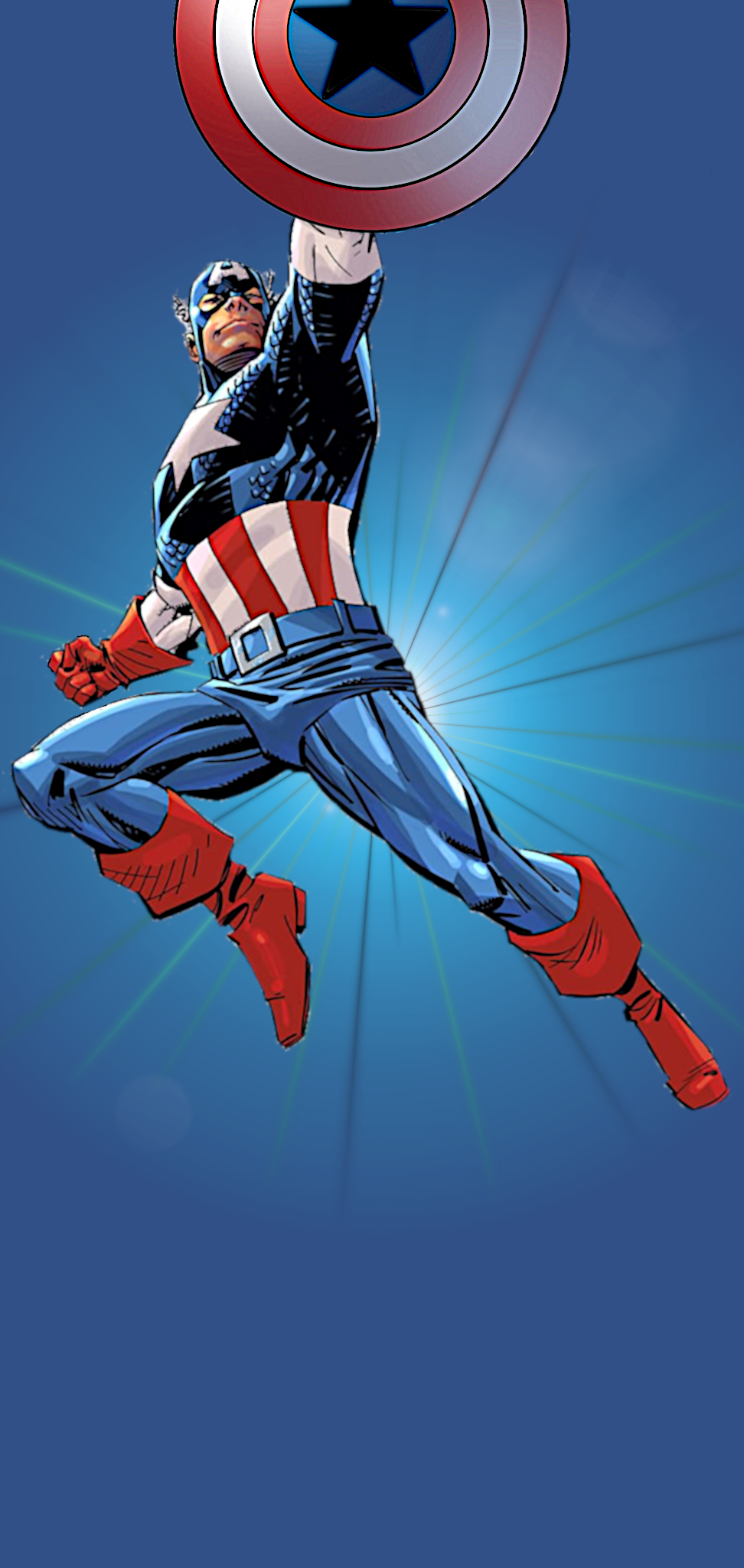 Kapitan Amerika - Note 10 Plus HD Divar kağızları