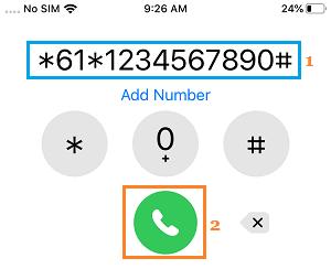 IPhone cavab verməyəndə zəngləri köçürün