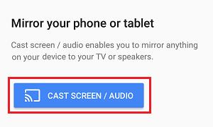 Google Home tətbiqetməsində Android ekranını televizorunuza yayın