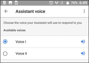 Google Əsas Səsini kişi və ya qadın olaraq dəyişdirin