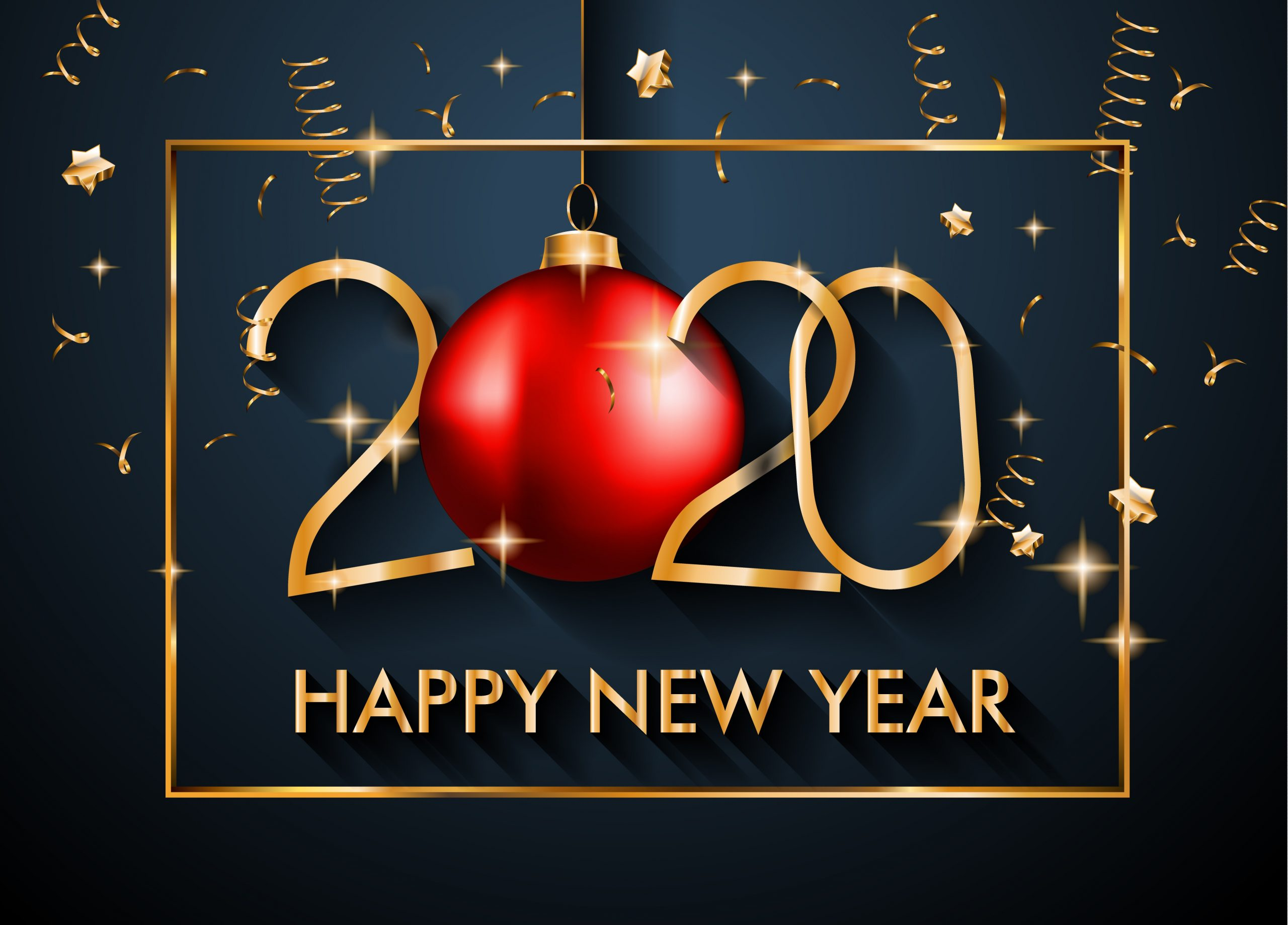 Najlepsze tapety i obrazy 4K Happy New Year 2020
