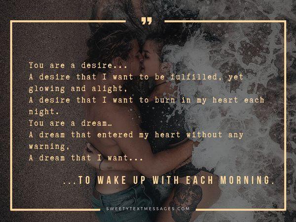 Śliczne wiersze z romantycznym zmysłem dla niej