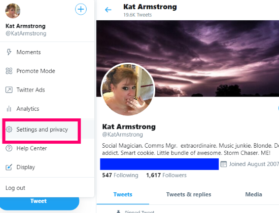 Twitter: Jak wykonać kopię zapasową tweetów 3