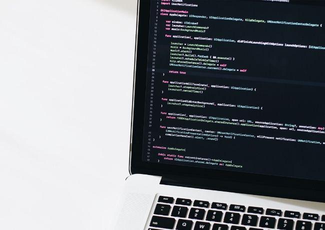 Linguagens de programação para programadores de laptop Code Haxe