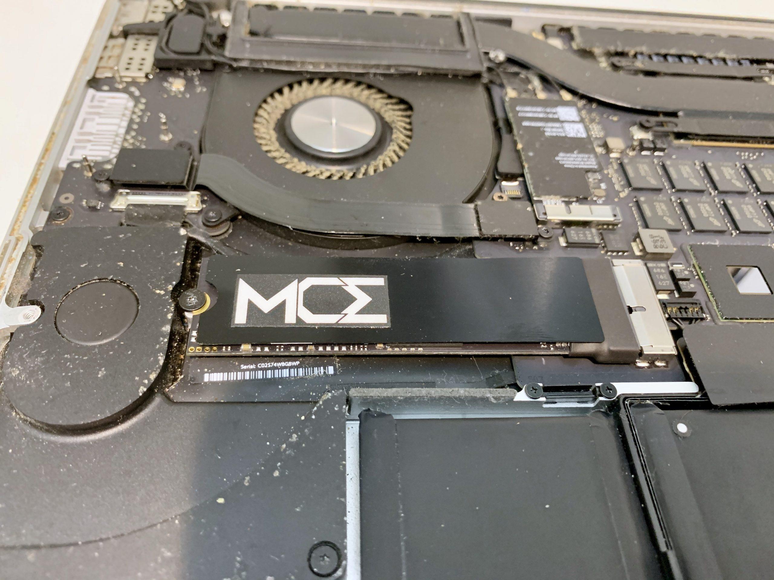 Aktualizacja dysku SSD MacBooka Pro