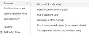 Sut i ddod o hyd i Google Sheets yn Gmail 2