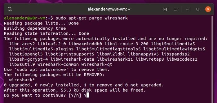 Remover completamente o Linux Apt Get Purge 2