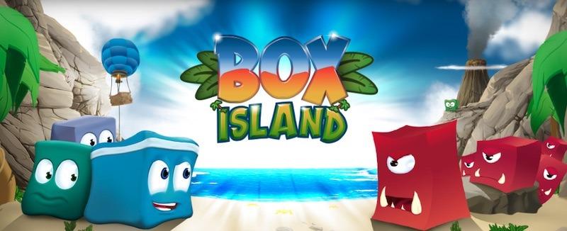 Mae cymwysiadau'n dysgu codio ar gyfer Kids Box Island