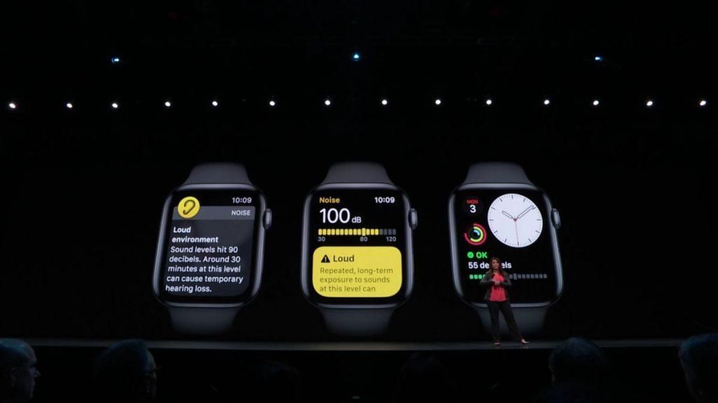 Apple    Oznamuje watchOS 6;  Zahŕňa sledovanie menštruačného cyklu a snímač hladiny hluku 2