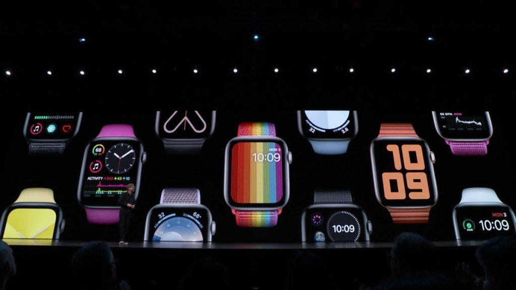 Apple    Oznamuje watchOS 6;  Zahŕňa sledovanie menštruačného cyklu a snímač hladiny hluku 3