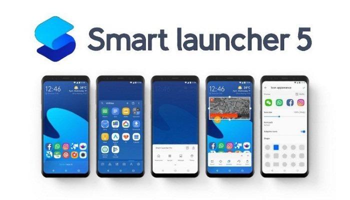 Vlastné písma Smart Launcher5