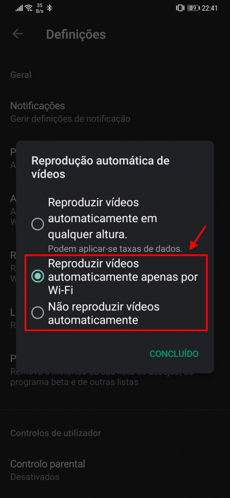İpucu: Videoları bitirərək Play Store-da məlumat istehlakını azaldın 2