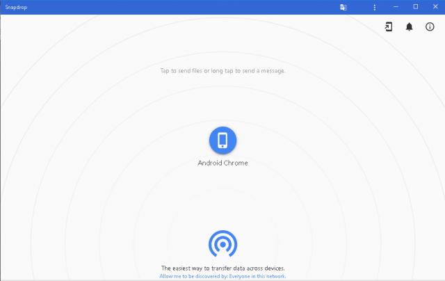 Snapdrop istifadə edərək cihazlar arasında asanlıqla məlumat ötürün 3