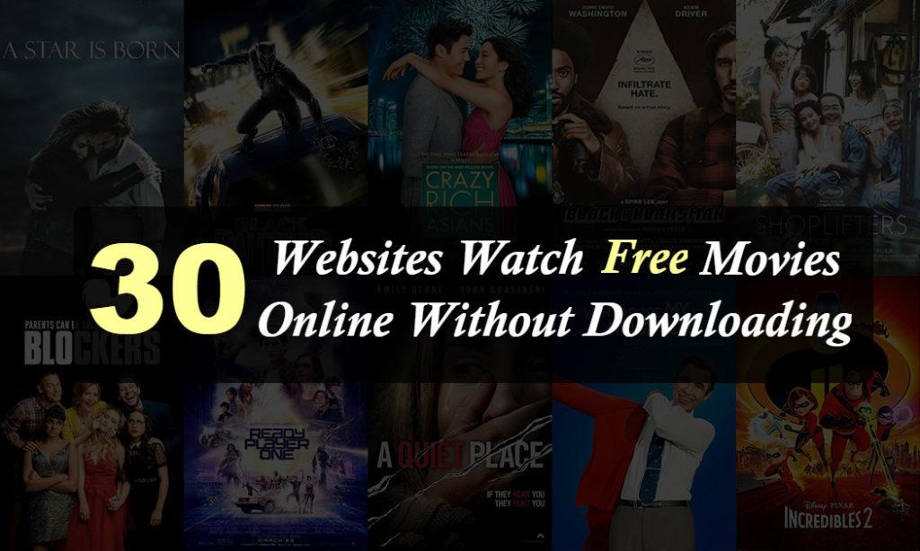 30 parasta verkkosivustoa, jotka voivat katsella elokuvia verkossa ilmaiseksi