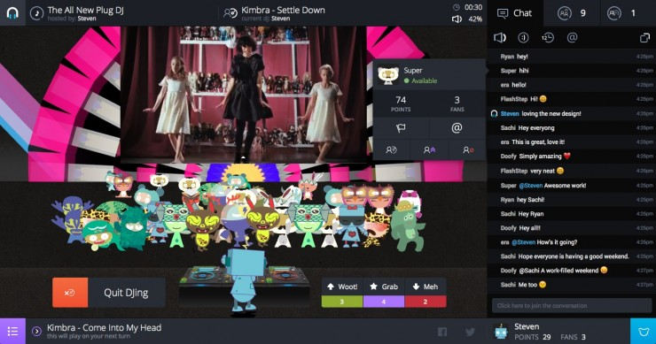 Oglądaj filmy online z przyjaciółmi Podłącz DJ