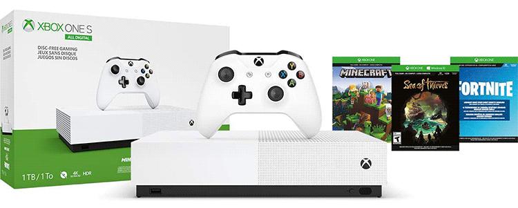Oferta dla konsoli Xbox One S.