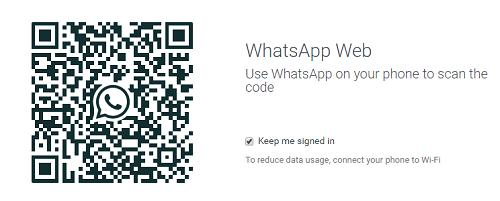 Whatsapp veb qr kodu