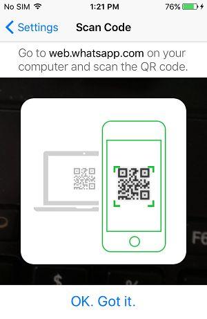 QR kodunu iPhone ilə tarayın