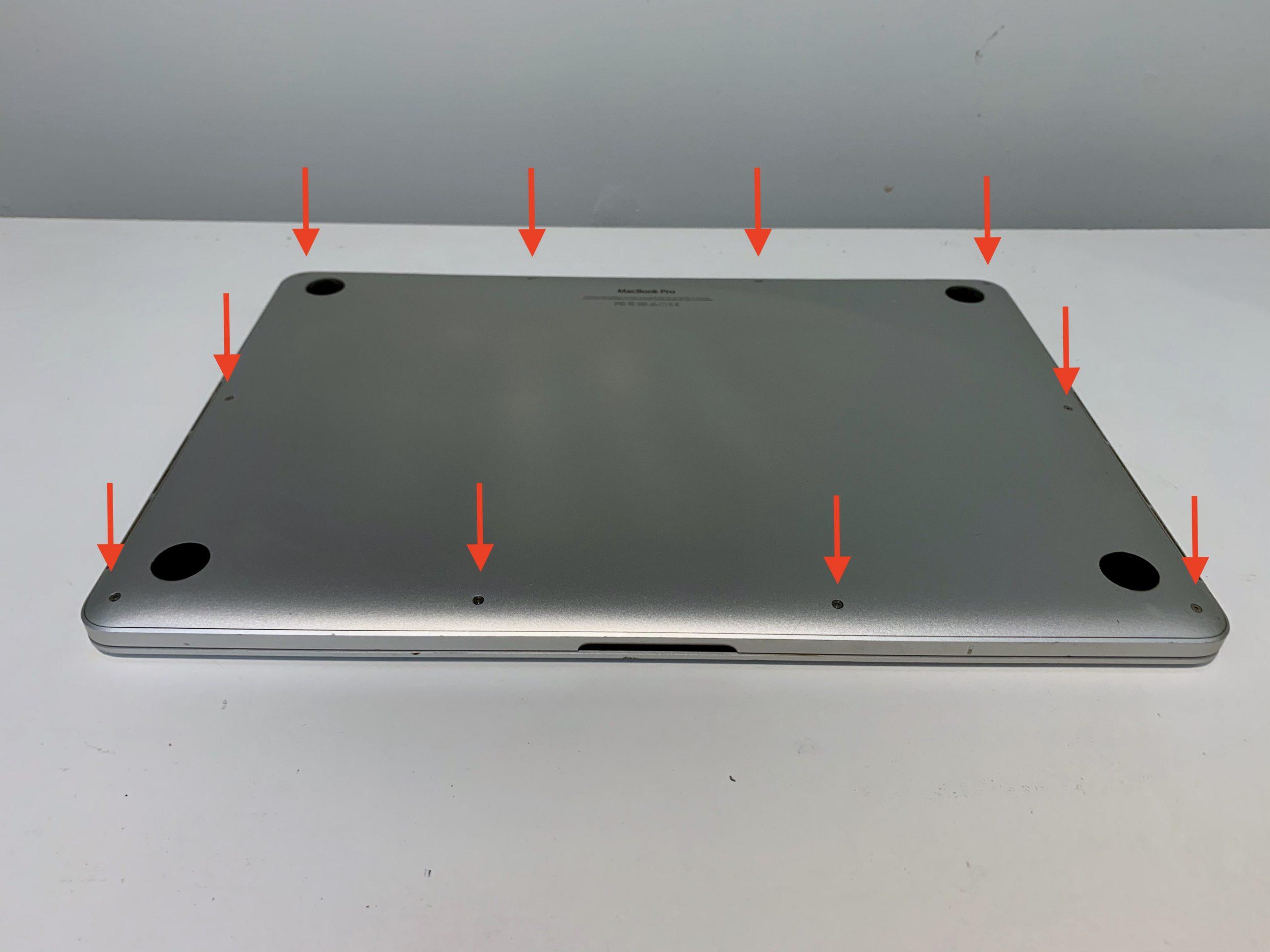 Dolna obudowa Retina MacBook Pro