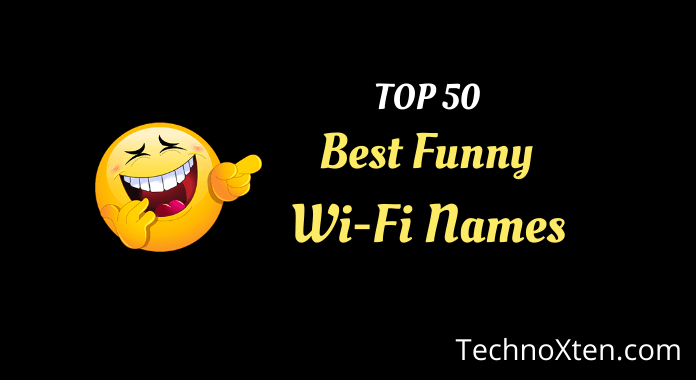 Najlepsze śmieszne nazwy Wi-Fi 2019