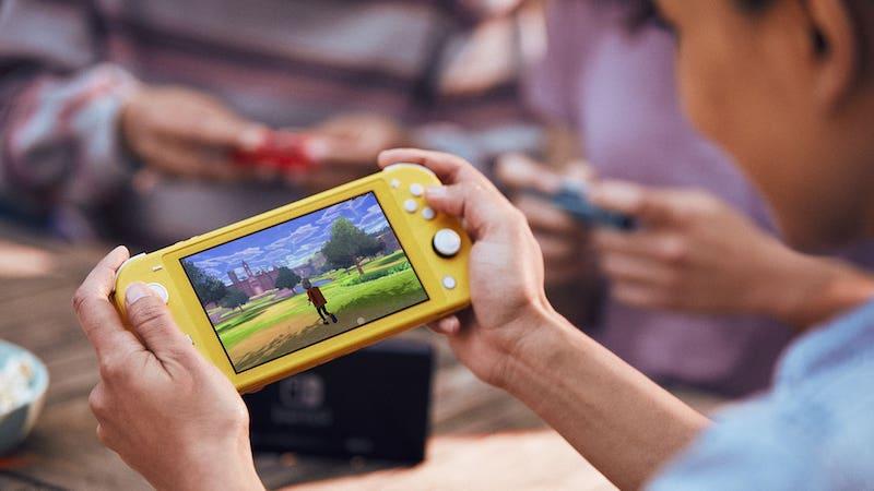 Os melhores jogadores de presentes Nintendo Switch Lite