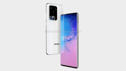 Pierwsze czteroramienne zdjęcia Samsunga są filtrowane Galaxy S11 + 1