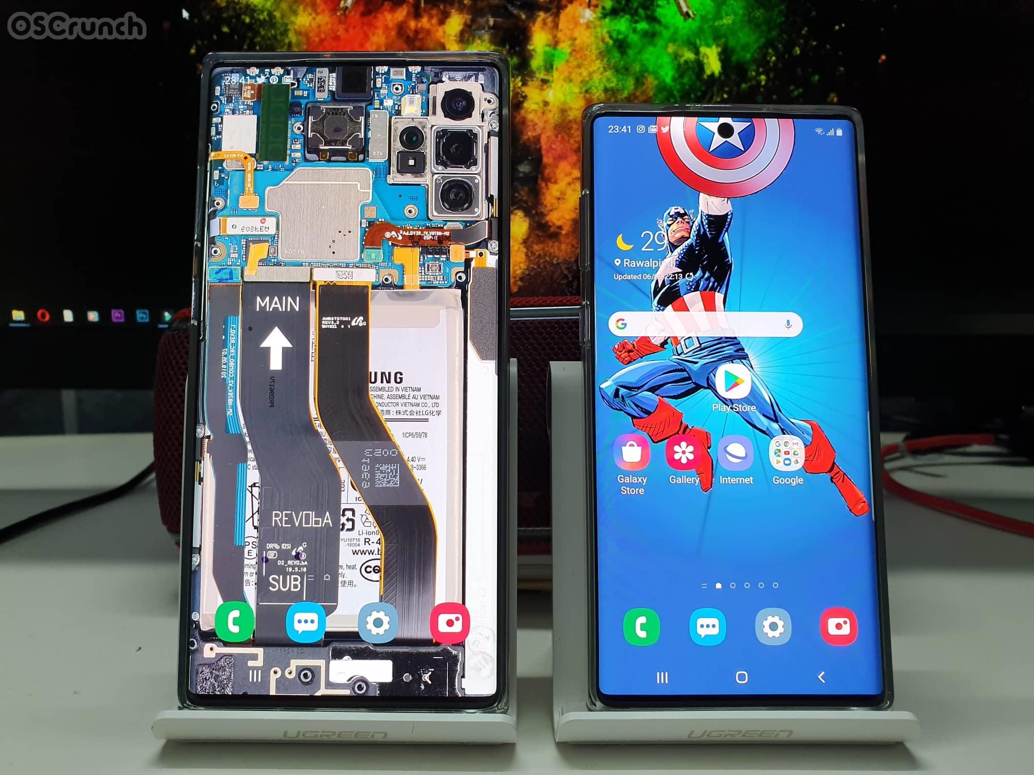 Galaxy Note        10 Plus HD Divar kağızları