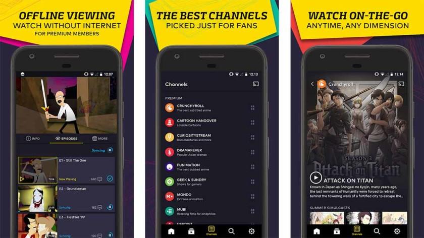 VRV on yksi parhaimmista Android-TV-sovelluksista