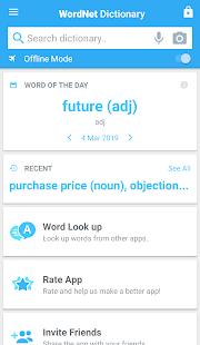 Advanced English Dictionary & Thesaurus Zrzut ekranu