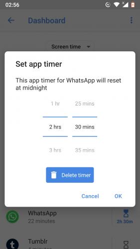 """Ako nastaviť počítadlo aplikácií pre aplikácie pre Android 9 8""""width ="""" 281 """"height ="""" 500"""