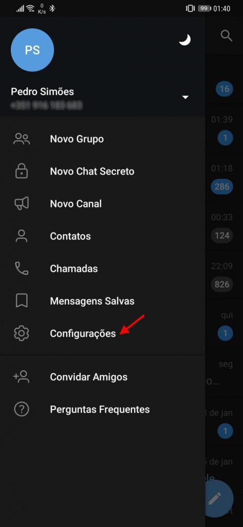 Zmiana zestawu nazw użytkowników telegramu