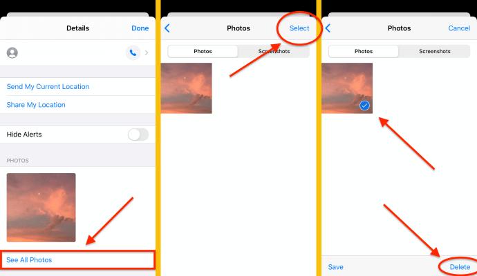 Ako odstrániť všetky prílohy v iMessage 5