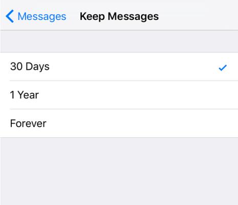 Ako odstrániť všetky prílohy v iMessage 8