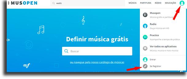 zaregistrujte sa a stiahnite si bezplatnú hudbu na adrese Musopen.org