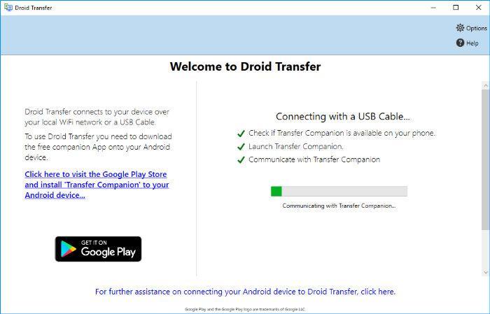 """Ako ukladať a tlačiť správy z telefónu Android pomocou Droid ... 1""""width ="""" 696 """"height ="""" 446"""