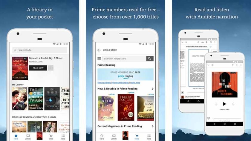 Amazon Kindle    on yksi parhaista Android-mangasovelluksista